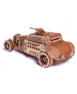 """Дерев'яний 3D пазл """"Машина Апокаліпсис"""""""