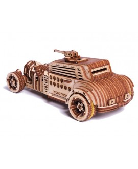 """Wooden 3D puzzle """"Apocalyptic Car"""""""