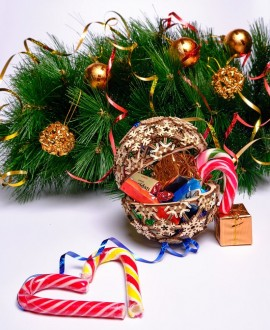 """Wooden 3D puzzle """"Christmas ball"""""""