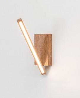 Дерев'яний світильник VECTOR