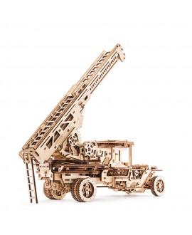 "Дерев'яний 3D пазл ""Пожежна машина"""
