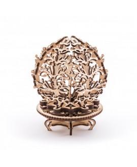 """Wooden 3D puzzle """"Mechanical Flower-etui"""""""