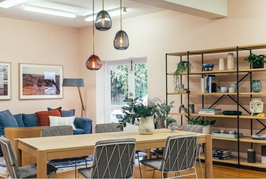 Wooden Scandinavian furniture